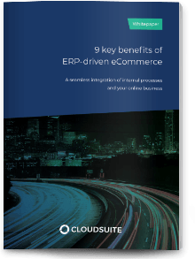 Whitepaper ERP-driven eCommerce: the 9 key benefits