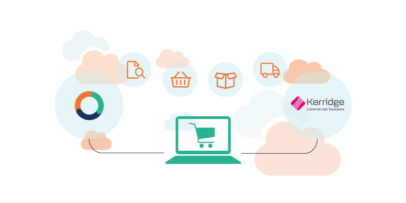 CloudSuite e-commerce integratie met Kerridge CS