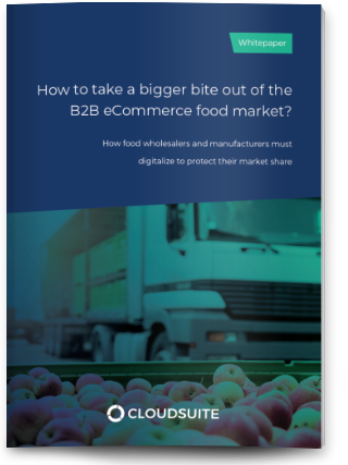 How to take a bigger bite out of the B2B eCommerce food market?