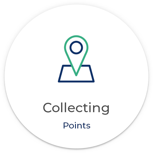 Collecting points
