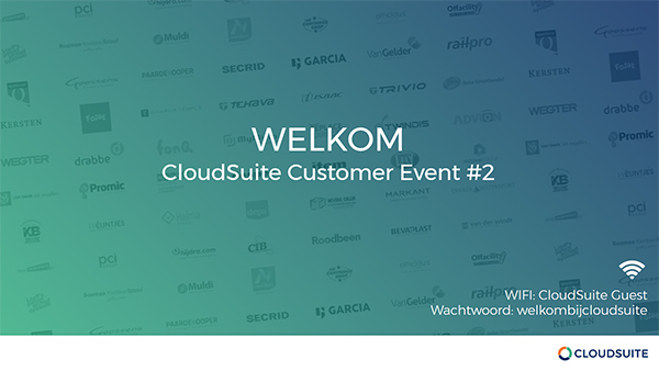 CloudSuite customer slides