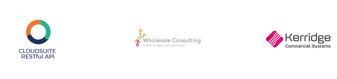 CloudSuite e-commerce integratie met Kerridge CS in samenwerking met Wholesale Consulting
