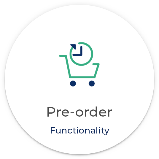 Pre-order functionality eCommerce
