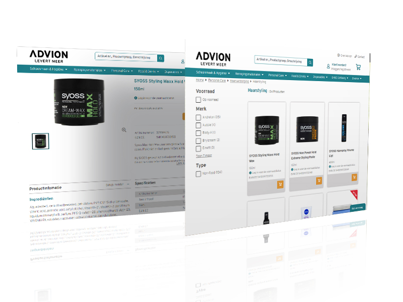 Advion screens